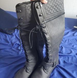 "Justfab ""lena"" size 8.5 boots"
